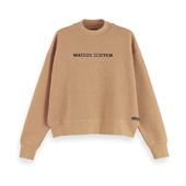 Relaxed High Neck Sweatshirt