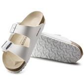 Birkenstock Arizona White Leather