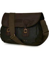 Barbour Lifestyle Wax Leather Tarras Olive