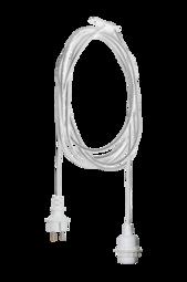 TrÅden Ledning Til Udendørs Brug E27 - 5 M Hvid