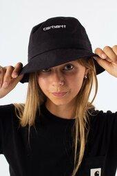 Script Bucket Hat - Black/white - Carhartt - Sort M/l
