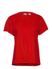 Perfect Tee Poppy Red T-shirt Top Rød Levi´s Women