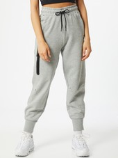 Nike Sportswear Bukser  Grå-meleret / Sort