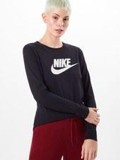 Nike Sportswear Shirts  Sort / Hvid