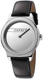 Esprit 99999 Dameur Es1l019l0015 Sølvfarvet/læder Ø34 Mm