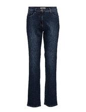 Carola Lige Jeans Blå Brax