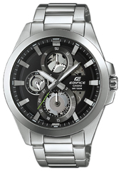 Casio Edifice Herreur Esk-300d-1avuef Sort/stål Ø45.1 Mm