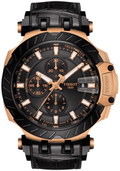 Tissot T-race Herreur T115.427.37.051.01 Sort/gummi Ø45 Mm