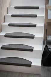 Escalier Trappetrinsmåtte 15-pak Mørkegrå