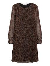 Frmaleo 1 Dress Kort Kjole Brun Fransa