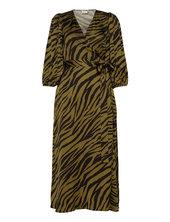 Nadjagz Wrap Dress Bz Dresses Wrap Dresses Grøn Gestuz