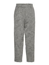 Alta Trousers Bukser Med Lige Ben Grå Hope