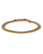 Tom Wood Curb Bracelet L Gold