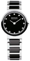 Bering Ceramic Dameur 10725-783 Sort/stål Ø25 Mm