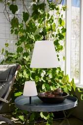 LampeskÆrm Gardenlight Kreta Hvid