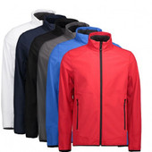 Id Funktionel Softshell Jakke - Graa - 3xl