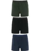 Cdlp 3-pack Boxer Shorts Black/army/navy