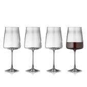 Lyngby Glas - Krystal Zero Rødvinsglas - 4 Stk