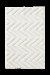 Arild Badeværelsesmåtte 80x120 Cm Hvid
