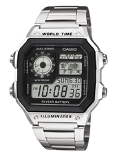 Casio Collection Herreur Ae-1200whd-1avef Lcd/stål 42x42 Mm