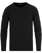 Replay Crew Neck Long Sleeve Tee Black