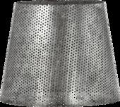 Mia Hullet Lampeskærm 17 Cm