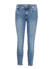 Skinny Skinny Jeans Blå Wrangler