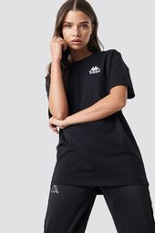 Kappa Wollie Tee - Black