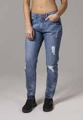 Urban Classics Jeans 'boyfriend'  Blue Denim