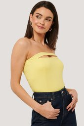 Na-kd Party Bandeau-top - Yellow