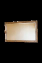 Spejl Sekel Sølvfarvet 85x155 Cm