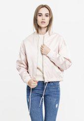 Urban Classics Overgangsjakke  Lys Pink