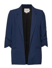 Slshirley Blazer Blazer Jakke Blå Soaked In Luxury