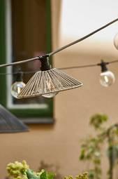 Lampeskærm Vide 38 Cm Beige