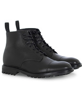 Loake 1880 Sedbergh Derby Boot Black Calf Grain