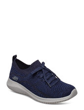 Womens Ultra Flex Low-top Sneakers Blå Skechers