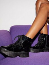 Duffy Spice It Up Boots Flat Boots