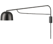 Normann Copenhagen Grant Væglampe - Sort - 111