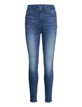 Kafey Ultra High Skinny Wmn Skinny Jeans Blå G-star Raw