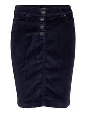 Skirts Woven Kort Nederdel Blå Esprit Casual