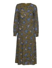 Dresses Light Woven Knælang Kjole Grøn Esprit Casual
