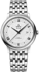 Omega De Ville Prestige Herreur 424.10.40.20.02.005 Hvid/stål Ø39.5