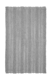 Nea Badeværelsesmåtte 80x120 Cm Grå