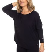 Tommy Hilfiger Micro Lace Ls Top