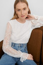 Na-kd Blondebluse - White