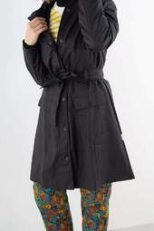 Curve Jacket - Sort - Rains - Sort M/l