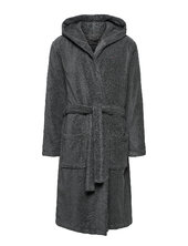Hooded Bathrobe Morgenkåbe Badekåbe Grå Tommy Hilfiger