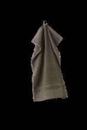 Bettie Håndklæde - økologisk Beigegrøn