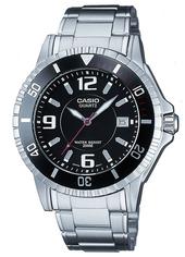 Casio Collection Herreur Mtd-1053d-1aves Sort/stål Ø42.6 Mm