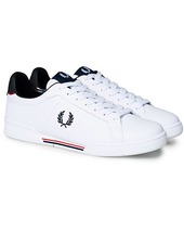 Fred Perry B722 Leather Sneaker White/navy